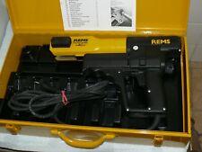 Pressatrice elettrica a filo REMS Power Press con valigetta