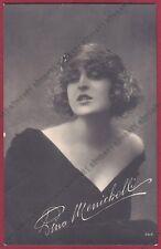 PINA MENICHELLI 24 ATTRICE ACTRESS CINEMA MUTO SILENT MOVIE - CASTROREALE 1922