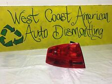 05 06 07 08 Audi A4 Left Driver Side Tail Light OEM 8E5 945 095 A