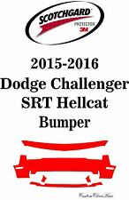 3M Scotchgard Paint Protection Clear Film 2015 2016 Dodge Challenger SRT Hellcat