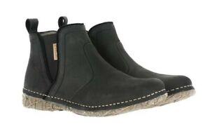 El Naturalista N959 Black Ankle Chelsea Boot Leather Made In Spain
