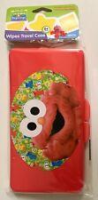 Sesame Street Beginnings Elmo Wipes Travel Case Plastic Bpa free