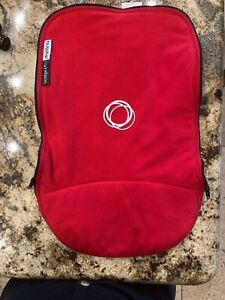 Bugaboo Cameleon I/II Bassinet Carrycot Cover Apron Red Fleece