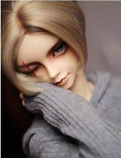 1 3 8-9 Bjd wig MSD MDD Luts Obitsu60 DD Doll BROWN mix wig hair