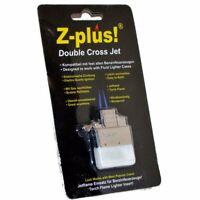 Z-Plus Gaseinsatz Doppel JET-FLAME Benzinfeuerzeuge, Gas Einsatz z.B. für ZIPPO
