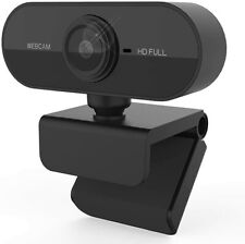 Webcam with Microphone, 30FPS Full HD 1080P Webcam Video Camera for Computers PC