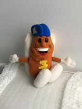 Rare Ball Park Franks HOT DOG in Bun Bean Bag Plush advertising promo premium