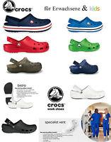 Crocs Crocband Classic Bistro Specialist Vent Work Arbeitsschuhe weiß Kinder