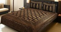 Queen Size Bedspread Handmade 100% Cotton with Pillow Cover