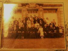 a voir photo grand format mariage famille devant la mairie de NANCOIS LE PETIT