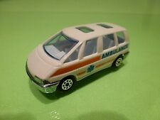 NOVACAR  RENAULT ESPACE  AMBULANCE 24H24 - WHITE 1:60?  - GOOD CONDITION