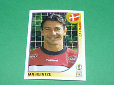 N°85 JAN HEINTZE DANMARK PANINI FOOTBALL JAPAN KOREA 2002 COUPE MONDE FIFA WC