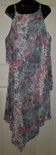 Ladies size 18 V Hem Floral Dress - KATIES
