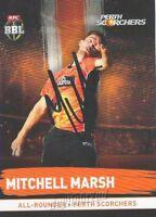 ✺Signed✺ 2016 2017 PERTH SCORCHERS Cricket Card MITCHELL MARSH Big Bash League
