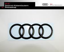 Audi Original Ringe schwarz hinten Audi A6 A4 S4 S6 R RS6 geklebt 8W9853742AT94