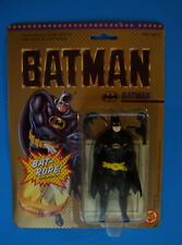 "1989 KEATON MOVIE DC Comics BATMAN w/Hidden Bat Rope in Belt 8"" Toy Biz MOC"