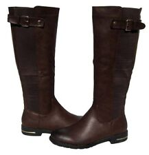 New Women's Knee High Brown Fashion Boots Winter Snow Shoes Ladies size 7.5