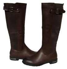 New Women's Knee High Brown Fashion Boots Winter Snow Shoes Ladies size 6