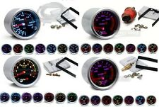 "Lot de 3 Manometre 52mm 2"" SMOKE 7 couleurs, choix de 3 manos Tuning NEUF"