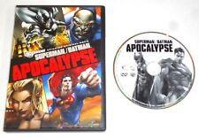Superman/Batman: Apocalypse (DVD, 2010) DC comics film RATED PG-13 movie