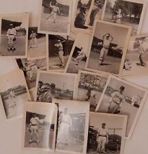 18 vintage photos BASEBALL Texas, Ocean City players 1960s umpire batter SPORTS