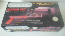 CONSOLE NINTENDO NES PAL - PACK ACTION SET ZAPPER SUPER MARIO BROS DUCK HUNT