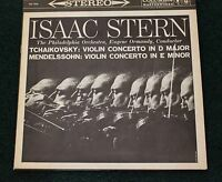 Isaac Stern Columbia MS 6062 LP Tchaikovsky & Mendelssohn Violin Concertos