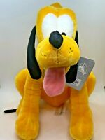 Disneyland Walt Disney Pluto Plush Stuffed Animal Mickey Mouse's Dog
