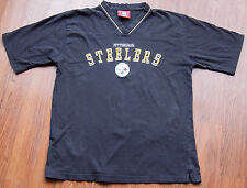 Pittsburgh Steelers Embroidered Jersey Shirt Nfl Size Med Vtg Football Classic