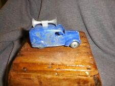 Vintage Dinky 492 Speaker Van Hollow Diecast Shows Wear
