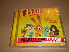 TITOU LE LAPINOU - MON PREMIER ALBUM (CD ALBUM ) ~ NEW & SEALED