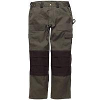 Dickies Gdt 290 Pantalón de Trabajo Talla Cintura 76.2cm-117cm Hombre Verde