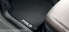 Volkswagen Polo Rear Carpet Floor Mats A05 GENUINE NEW