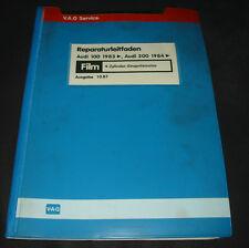 Microfich Audi 100 200 Typ 44 C3 4 Zylinder Einspritz Motor Stand Oktober 1987