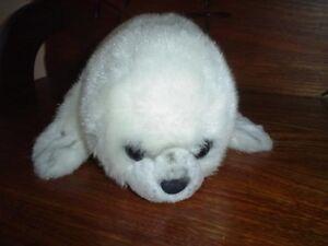 Russ Berrie Yomiko Classics Seal Stuffed Plush 14 Inch