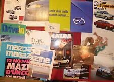 N°5400  /  MAZDA lot de 14 catalogues 1979-2002
