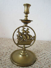 Nautical, Brass, Ship'S Single Candle Holder