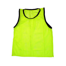 NEW SCRIMMAGE PRACTICE VESTS PINNIES SOCCER YOUTH YELLOW