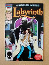 Labyrinth 1986 #1 Near Mint Marvel Comics Jim Henson David Bowie Bag and Boarded