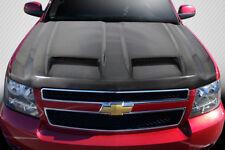 Chevrolet Tahoe Avalanche Suburban 07-14 Carbon Creations Carbon Fiber CVX Hood