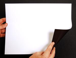 8.5 x 11 in Letter Size White Printable Magnetic Sheet Magnet Laser Inkjet Matte
