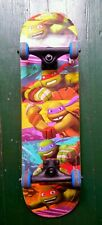 """PlayWheels Teenage Mutant Ninja Turtles 28"""" Complete Skateboard–Hang On Graphic"""
