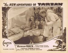 NEW ADVENTURES OF TARZAN 1935 Herman Brix Chapter 7 VINTAGE SERIAL Lobby Card 8