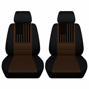 Seat Covers Fits 2011 to 2020 Chevy Malibu American Flag on Variety Colors