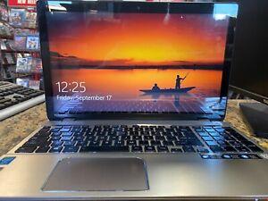 "Toshiba P55t touch screen Laptop, 15.6"", i5-4200U CPU 2.3GHz, 8GB RAM, 750GB HDD"
