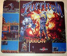 TURRICAN vintage game amiga,spectrum,atari tribute MOUSE MAT pad