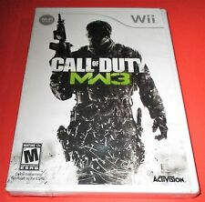 Call of Duty: Modern Warfare 3 Nintendo Wii *Factory Sealed! *Free Shipping!