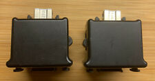Pair of Black official motion plus remote attachments for Nintendo Wii adapters