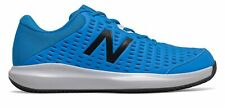 New Balance Men's Clay Court 696v4 Tennis Shoes Blue with Blue