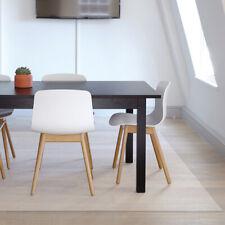 CW_ Protector Floor Mat PVC Transparent Desk Rolling Chair Carpet NonSlip Mystic